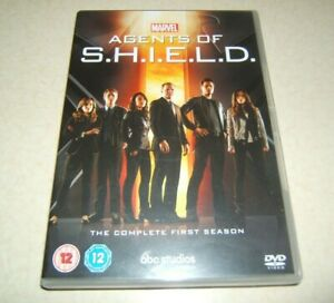 AGENTS OF S.H.I.E.L.D. SHIELD  COMPLETE FIRST SEASON    REGION 2 DVD