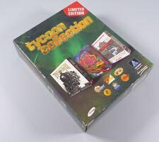 Tycoon Collection PC 1999 mit Transport Railroad Rollercoaster in deutsch Bigbox