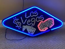 18�x9� Las Vegas Nevada Neon Light Up Sign With Adapter