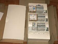 coffret tableau electrique  hager + porte + disjoncteur et inter differentiel