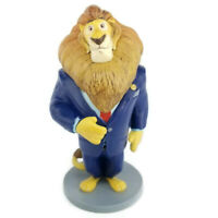 "Zootopia Lion Mayor Lionheart PVC Figure Disney Store Toy Cake Topper 4"" Cartoon"