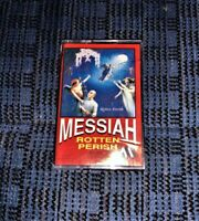 Death Metal MESSIAH Rotten Perish Cassette Tape Played VG Played