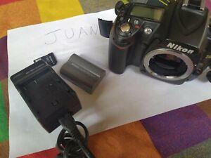 CAMARA DIGITAL REFLEX NIKON D90(SOLO CUERPO NO INCLUYE OBJETIVO) EN BUEN ESTADO.