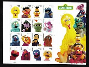 #5394 Sesame Street - (forever) 2019 Issue - MNH Sheet of 16
