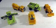 Transformers G1 & G2 Devastator Construction Lot Action Figures Loose VG