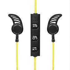 Inalámbrico Auriculares deportivos bluetooth Trotar FOOTING NEGROS VERDE
