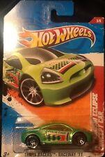 Hot Wheels Thrill Racers Raceway 2011 Mitsubishi Eclipse Concept Car 1:64 MINT