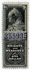 (I.B) Canada Revenue : Weights & Measures $1