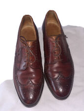 EDWARD GREEN OXFORD BROUGUES LUXURY SHOES FOR NEW & LINGWOOD LONDON: UK 9.5