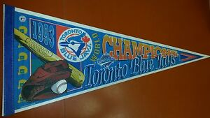 1993 Toronto Blue Jays World Series Champions MLB Pennant