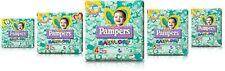 N. 10 PACCHI di PANNOLINI PAMPERS BABY DRY TAGLIA MISURA 2 3 4 5 6 a scelta