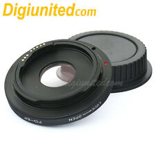 Built-in EMF AF confirm Canon FD lens to Canon EOS adapter optic 5D III 70D 700D