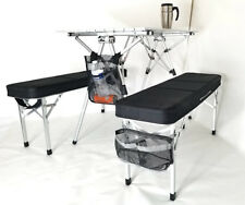 Portable Folding Camping Picnic Table and Chairs