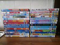 Bundle Job Lot 28 Kids Childrens Dvds Disney Pixar Peppa Minions ice Age Bolt