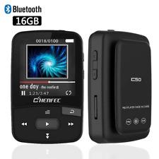 ChenFec Bluetooth MP3 Player 16GB Clip Sport Portable Lossless Sound Hi-Fi Music