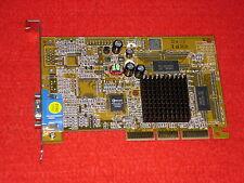 AGP-tarjeta gráfica NVIDIA RIVA tnt2 Vanta modelo 64 16mb (gm1000-16) 4xagp únicamente: