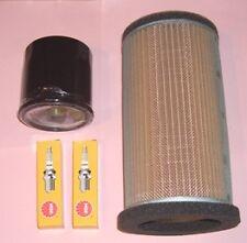 Service kit- Spark plugs , Air & Oil filter to fit Kawasaki ER ER5 ER-5  1996-06