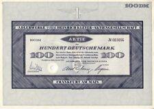 Adlerwerke vorm. Heinrich Kleyer AG Frankfurt 1953  100DM