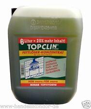 Fettlöser - Konzentrat TOPCLIN - Hygiene Reiniger 6 Liter Hochleistungsreiniger