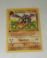 Aerodactyl 16/62 Fossil Set 1st Edition Rare Pokemon Card NM