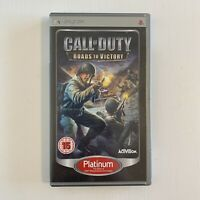 Call of Duty Roads to Victory - Platinum Edition (Sony PSP, 2009) -...