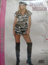 RG Costumes 81463 Sexy Adult Special Mission NEW