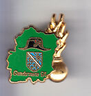 RARE PINS PIN'S .. GENDARMERIE KEPI BICORNE DEPARTEMENT VERT 91 3D OR ~CO