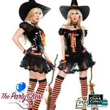 WICKEDLY SEXY WITCH HALLOWEEN COSTUME Forplay Witch Fancy Dress Outfit 557121
