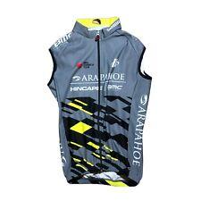 New 2019 Men's Hincapie Racing Team Roubaix Thermal Cycling Vest, Silver, Sz. XS