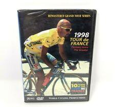 1998 Tour de France 3 DVD Set World Cycling Productions Marco Pantani Remastered