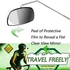 New Bike Bicycle Cycling Riding Mirror Helmet Mount Rearview Rear View Eyeglass
