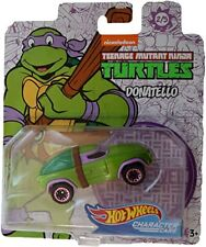 Hot Wheels TMNT Donatello Character Car Vehicle New Sealed 2/5 Ninja Turtles