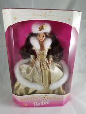 Mattel 1995 Special Edition Winter Fantasy Brunette Barbie 15530 NRFB