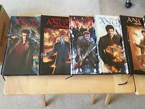 Angel Lot of 8 Hardcover graphic novel Volumes 1 2 3 4 5 6 + Angel Smile Time +1