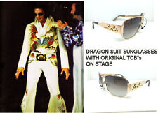 ELVIS DRAGON SUIT SUNGLASSES WITH TCB NAUTIC STYLE