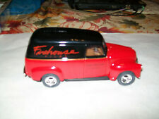 """ERTL #9369 """"Firehouse Films (Durona)"""" 1950 Chevy Panel 1/25 Scale Diecast Bank"""
