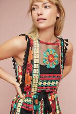 NEW Anthropologie size 8P Embroidered Saskia Dress by Eva Franco