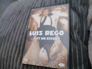 "DVD ""LUIS REGO FAIT UN EFFORT"" 16 sketches"