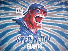 Liquid Blue New York Giants Step It Up Tie Dye Blue Men Crew Neck T- bfea0569bda