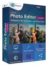 InPixio Photo Editor Home, Foto Grafik-Bearbeitung, Farbeffekte, Design Bild PC