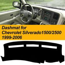 Dashmat for Chevrolet Silverado 1500 2500 1999-2006 Dashboard Mat Noslip Protect
