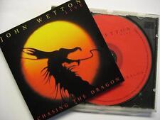 "JOHN WETTON ""CHASING THE DRAGON LIVE"" - CD"