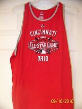 New Majestic MLB Apparel 2015 All Star Game Red Ultra Soft Tank Top Unisex 2XL