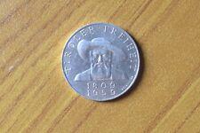 AUSTRIA REPUBLIK OSTERREICH 50 SCHILLING SCELLINI 1959 20 gr ARGENTO 900