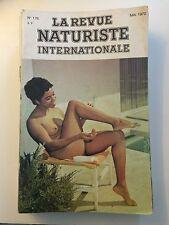 LA REVUE NATURISTE N ° 176 / 1970 / PIN UP CHARME EROTISME / NO PLAY BOY NO LUI
