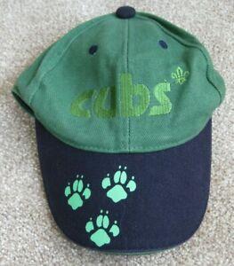 Boys Cubs Cap Baseball Cap Hat Cub Scout Uniform