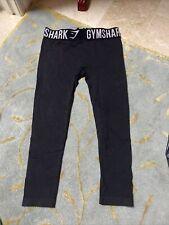 Womens Xs Gymshark Leggings Cropped Gray Seamless Activewear Exercise Yoga Pants