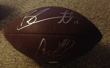 BRANDON MARSHALL-ALSHON JEFFERY AUTOGRAPHED SIGNED WILSON  FOOTBALL JSA W618387