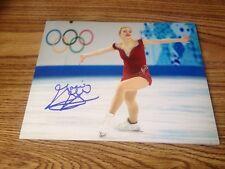 Gracie Gold Autographjed 8x10 photo USA Figure Skating Sochi Olympics PROOF