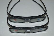 2 X Samsung SSG-5100GB Black  Active 3D Glasses Battery Operated 2013 Models